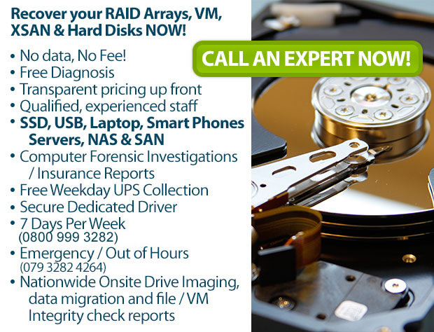 Data Recovery Expert in Norwich